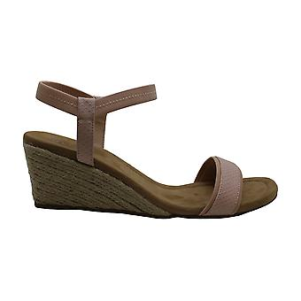 Alfani Womens GILLEE Cuir Open Toe Casual Ankle Strap Sandales