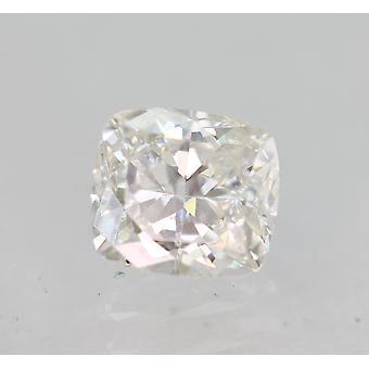 Sertifioitu 0,51 karat F VVS1 tyyny parannettu luonnollinen löysä timantti 5.05x4.53mm