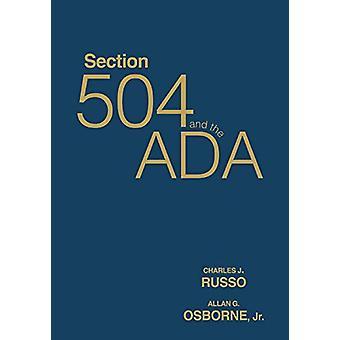 القسم 504 و ADA من قبل ألان ج. أوزبورن -- 9781412955096 كتاب