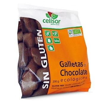 Soria Natural Cellules de biscuits sans gluten Choco Eco