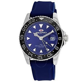 Seapro Agent Quartz Blue Dial Men's Watch SP0125