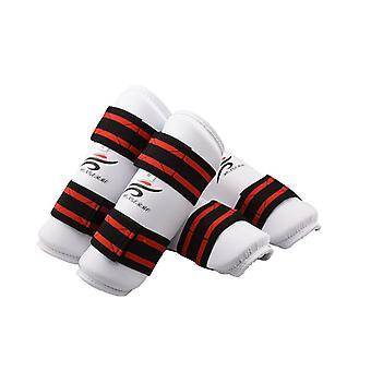 Karate Forearm Protector, Taekwondo Sparring Set, Leg, Knee Pad, Shin Support,