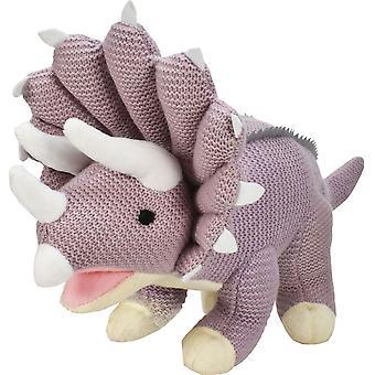 Triceratopo a maglia 19 pollici