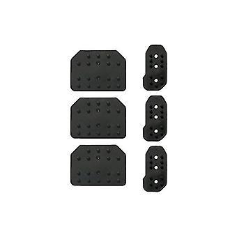 Car Pedal Rubbers Sparco Reflex Black (2 pcs)