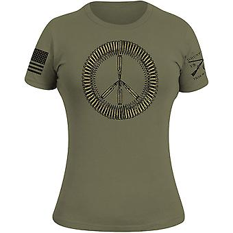 Grunt Style Women's Ammo Sign T-Shirt - Militair Groen