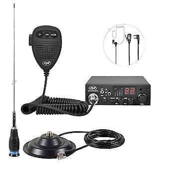CBI Radio CBI PNI ESCORT CB 8001L ASQ + CB PNI ML145 antenna with magnet 145 / PL