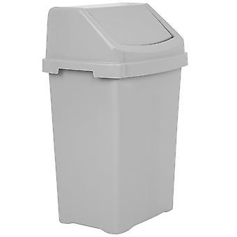 Wham Storage 50 litri Home Bidone oscillante in plastica riciclata