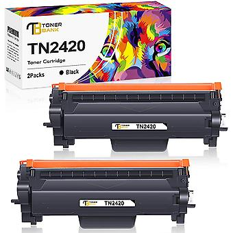 FengChun Kompatibel TN2420 TN-2420 TN2410 TN-2410 Tonerkartusche Ersatz für Bruder MFC L2710DW HL