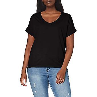 edc av Esprit 030cc1k318 T-Shirt, 001/Black, XS Women