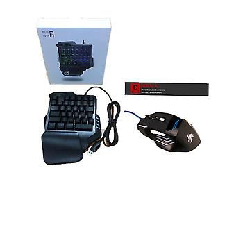 Mobile phone keyboard mouse converter automatic box tablet adapter stand holder for pubg