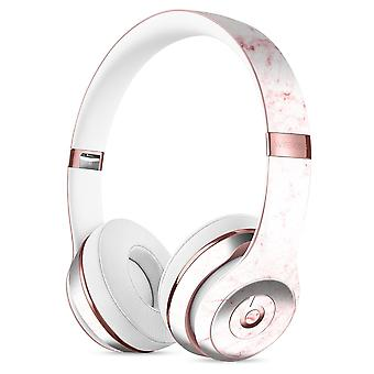 Pink Red Marble Surface Full-body Skin Kit For The Beats By Dre