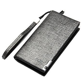 Pánská taška na zip s dlouhým řemínkem na ruce s více sloty pro karty