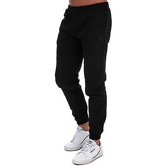 Men's Russell Athletic Elasticated Leg Pants in Black