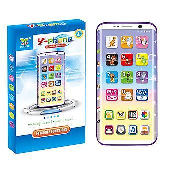 Dzieci, Inteligentna muzyka do ładowania telefonu, dźwięk, światło, mobilna wczesno edukacyjna zabawki