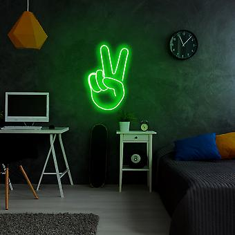 Segertecken - Grön grön vägglampa