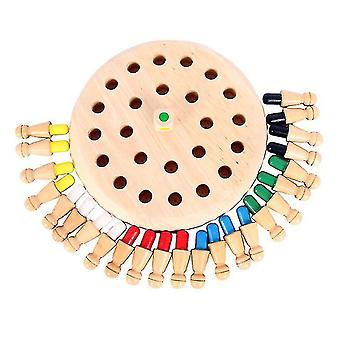 Wooden Game Memory Chess,Memory Matchstick Chess Parent-child Board Game