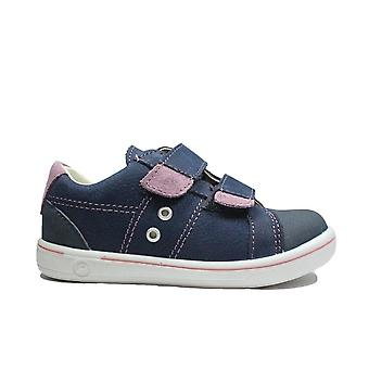 Ricosta Nippy 2623000-174 Nautic Leather Boys Rip Tape Zapatos Casuales