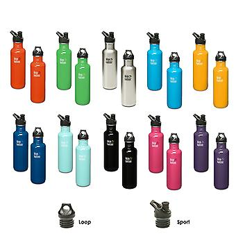 Klean Kanteen Classic Stainless Steel drinks bottle - 27oz + cap