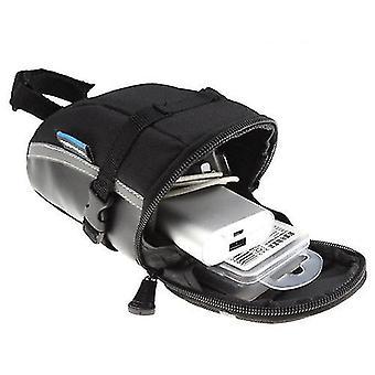 Bicycle bags panniers bicycle strap-on bike saddle bag-black