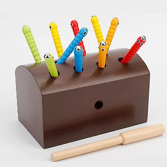 Interesting Magnetic Insect Toy Eye-hand Coordination Practice Intellectual Toy-e