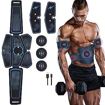 Smart Ems Muscle Training Gear Fitness Elettrico Forma del corpo Home Trainer Addominali Addome Braccio Muscolo