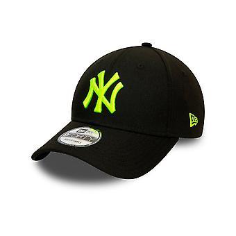 New Era New York Yankees Pop Logo 9FORTY Casquette en jaune