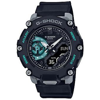 G-Shock Ga-2200m-1aer Carbon Core Guard Black Resin Men's Watch