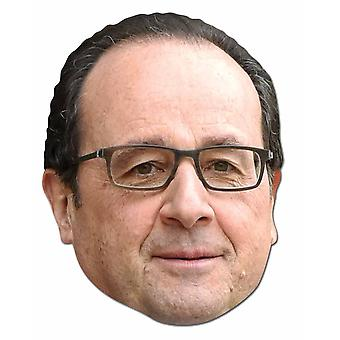 Francois Hollande French Politician 2D Card Party Fancy Dress Mask