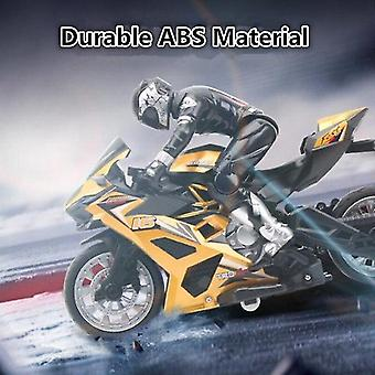 Remote control motorcycles remote control stunt motorbike 360 degree rotation drift car racing motorcycle toy model yellow