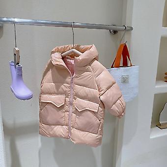 Children's Down Jacket Mid-length Down Jacket Baby Jacket Toddler Girl Winter Coat  Kids Clothes Girls