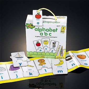 Schimpansen und Zee Alphabet Abc Puzzle