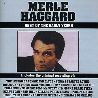Merle Haggard - meilleures de l'importation des USA de la petite enfance [CD]