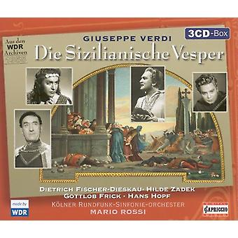 G. Verdi - Giuseppe Verdi: Die Sizilianische Vesper [CD] USA import
