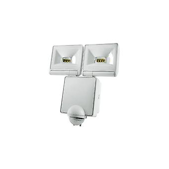 Timeguard Powerful 2x8W LED Energy Saver PIR Floodlight, White