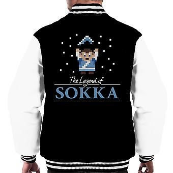 The Legend Of Sokka Avatar The Last Airbender Zelda Men's Varsity Jacket