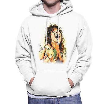 Ozzy Osbourne Getting A Tattoo Men's Hooded Sweatshirt