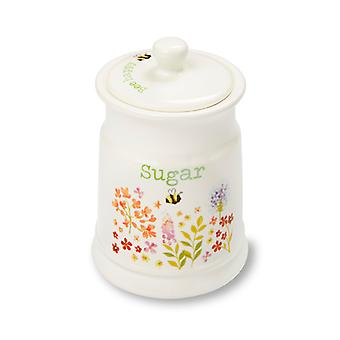 Cooksmart Bee Happy Ceramic Sugar Canister