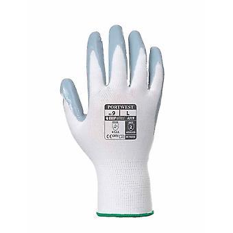 sUw - Flexo Griff Nitril allgemeine Handhabung Handschuh (1 Paar Einzelhandel Taschen)