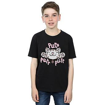 Big Bang Theory Boys Soft Kitty Purr T-Shirt