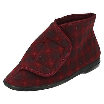 Mens Balmoral Boot Style Lounge Slippers V Boot M22