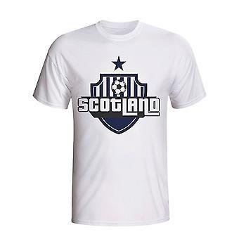 Scotland Country Logo T-shirt (white)