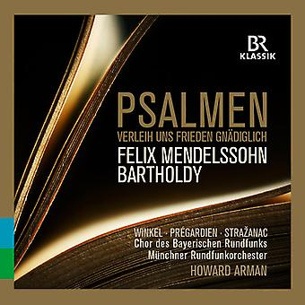 Bartholdy / Winkel / Arman - Psalms [CD] USA import