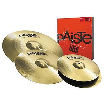 Paiste 101 Brass Universal 3 Stück Cymbal Set