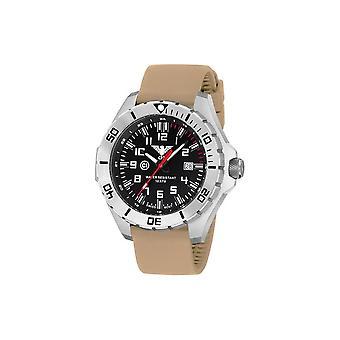 KHS orologi mens orologio acciaio KHS paese leader. LANS. ST