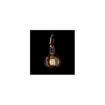 Ideal Lux Extra Large Vintage Mushroom LED Light Bulb 4W, Amber, 16cm X 25cm