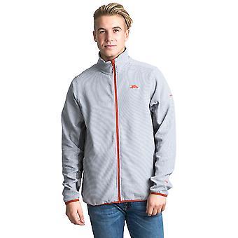 Trespass Mens Mirth Polyester Zip Fleece Outdoor Walking Jacket Top