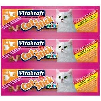 Vitakraft pisică-stick mini Turcia & amp; Miel pisică treat-20 Pack 400g
