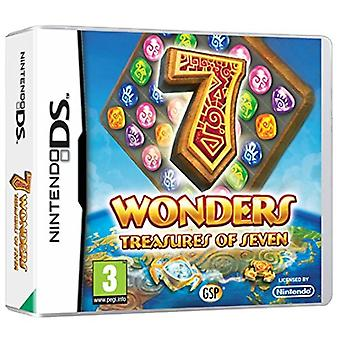 7 Wonders Treasures of Seven (Nintendo DS) - Nouveau