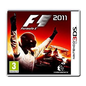 F1 2011 (Nintendo 3DS) - New