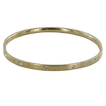 Skagen ladies bracelet Faith Love Hope gold JGSG050SM